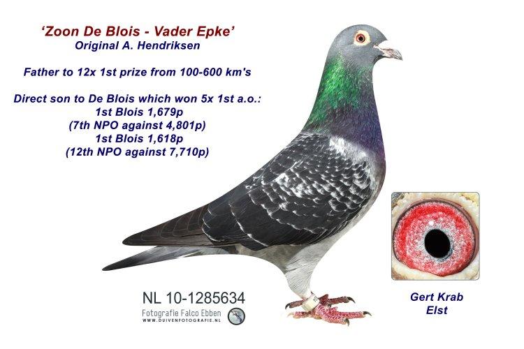 Vader Epke - Zn De Blois A. Hendriksen