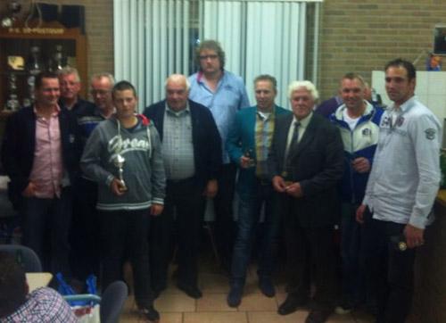 Huldiging kampioenen 2013 van Samenspel Rhenen-Ingen-Elst